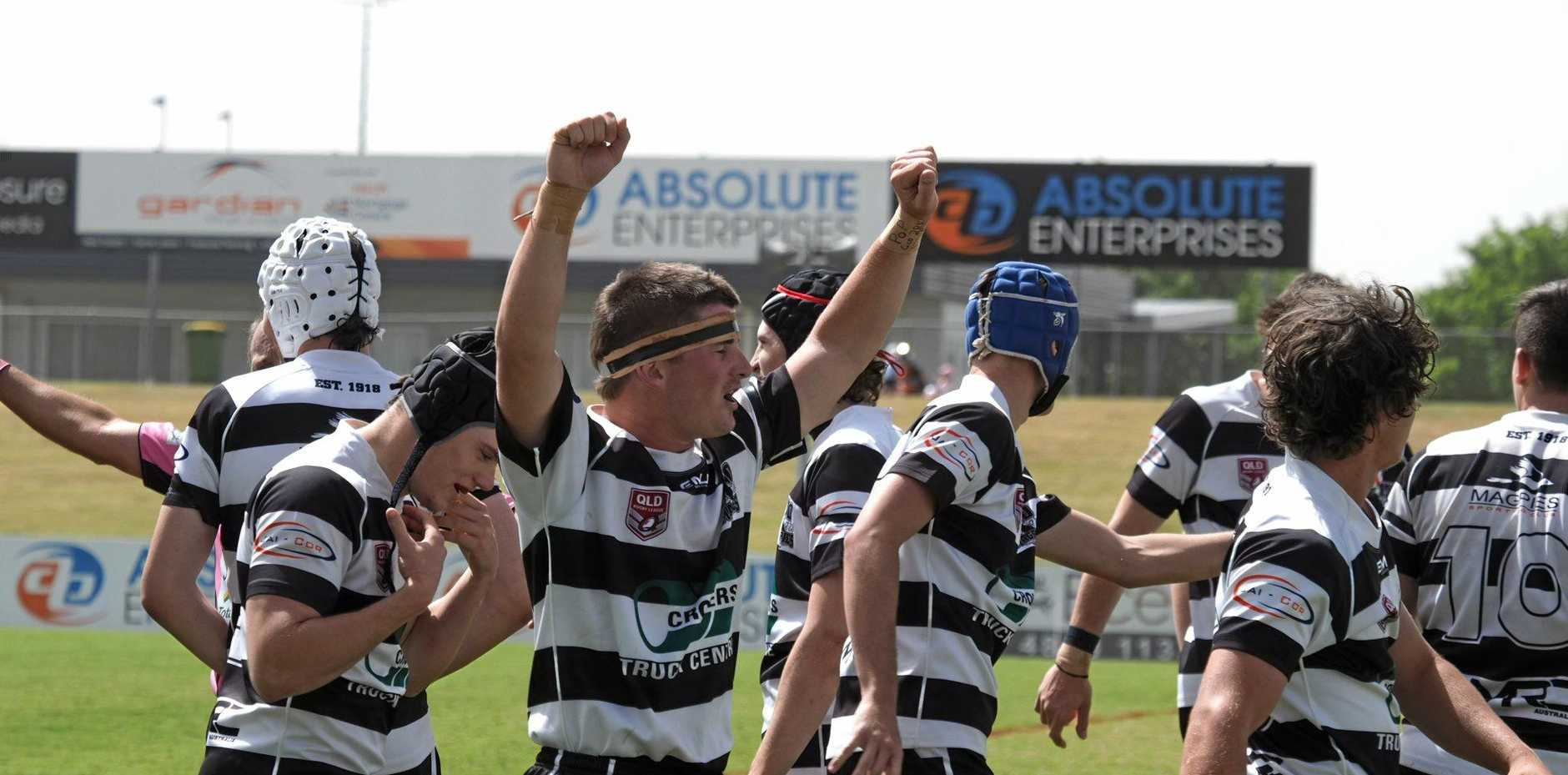 Magpies defeated Sarina in the Rugby League Mackay & District Under-19s grand final at BB Print Stadium. Sunday, September 8 2019.