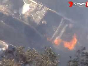 Black smoke fills sky after massive factory fire