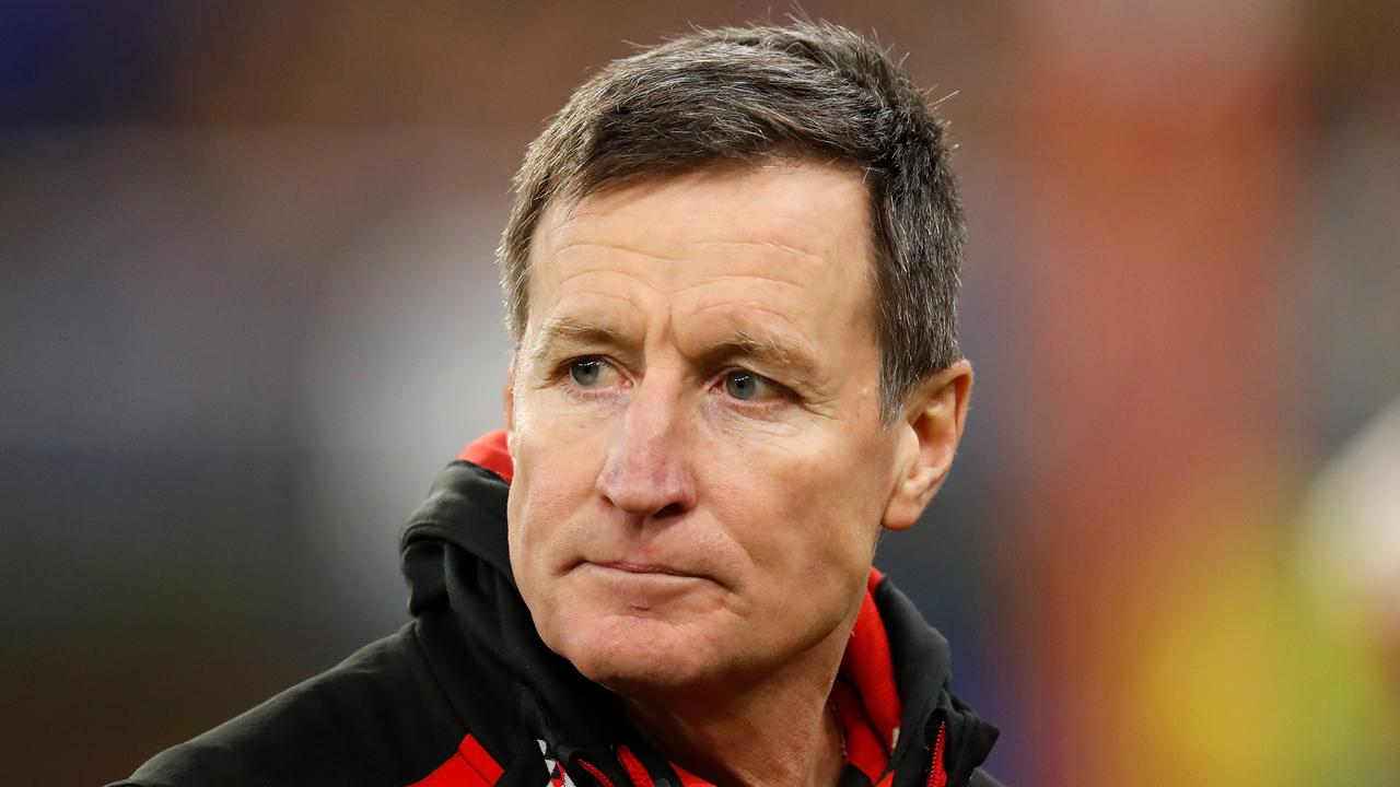 John Worsfold is seen as an outsider by some at Essendon. Pic: Getty Images