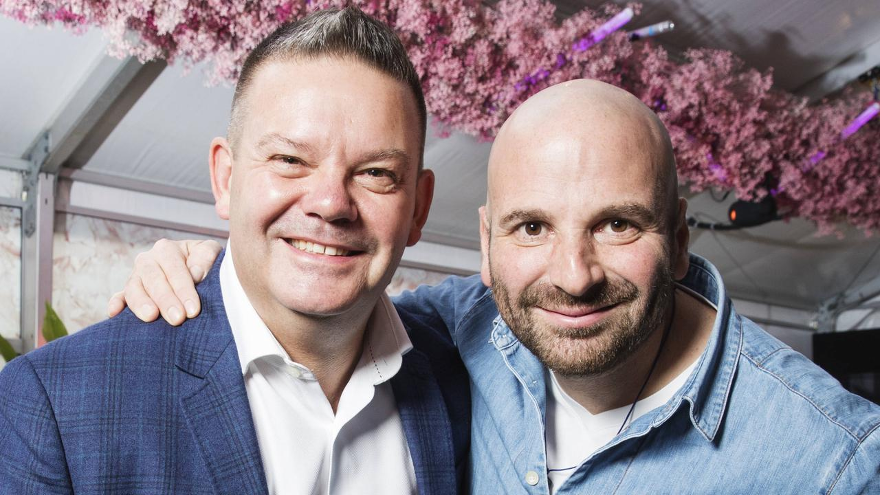 Gary Mehigan said he was worried about how much his mate George Calombaris could take. Picture: Lachie Millard
