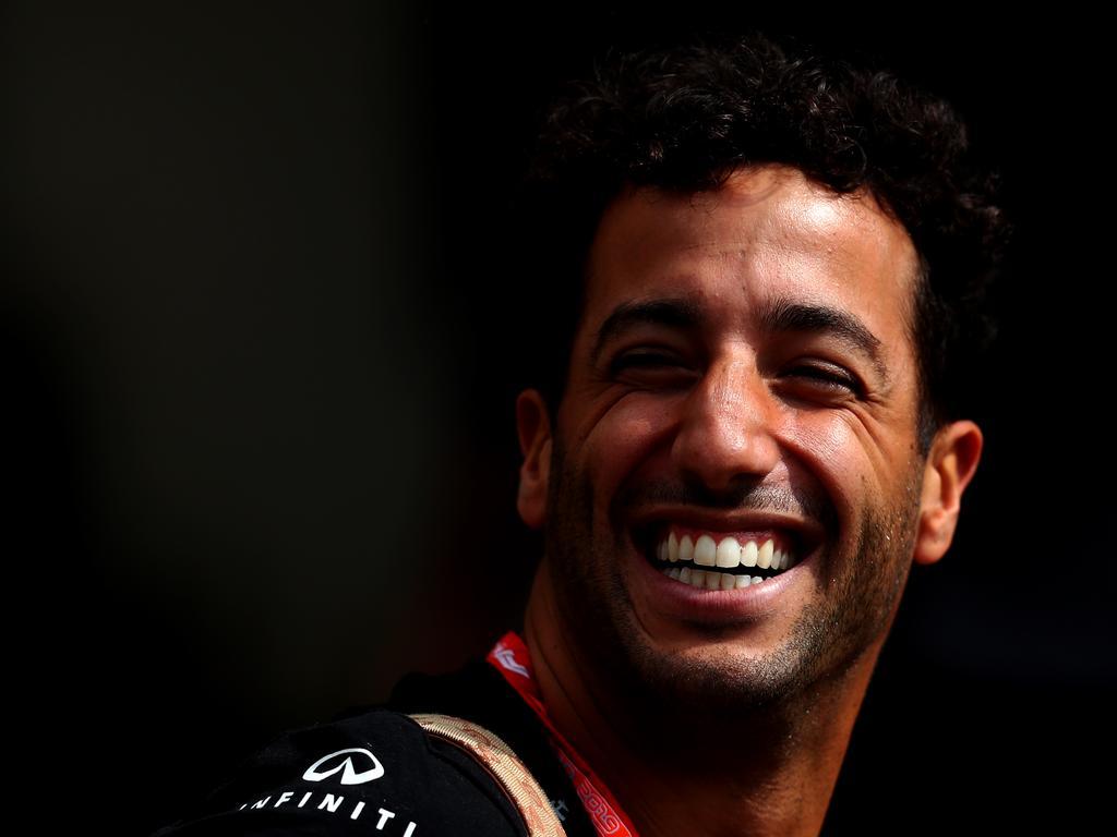 Daniel Ricciardo was happy.
