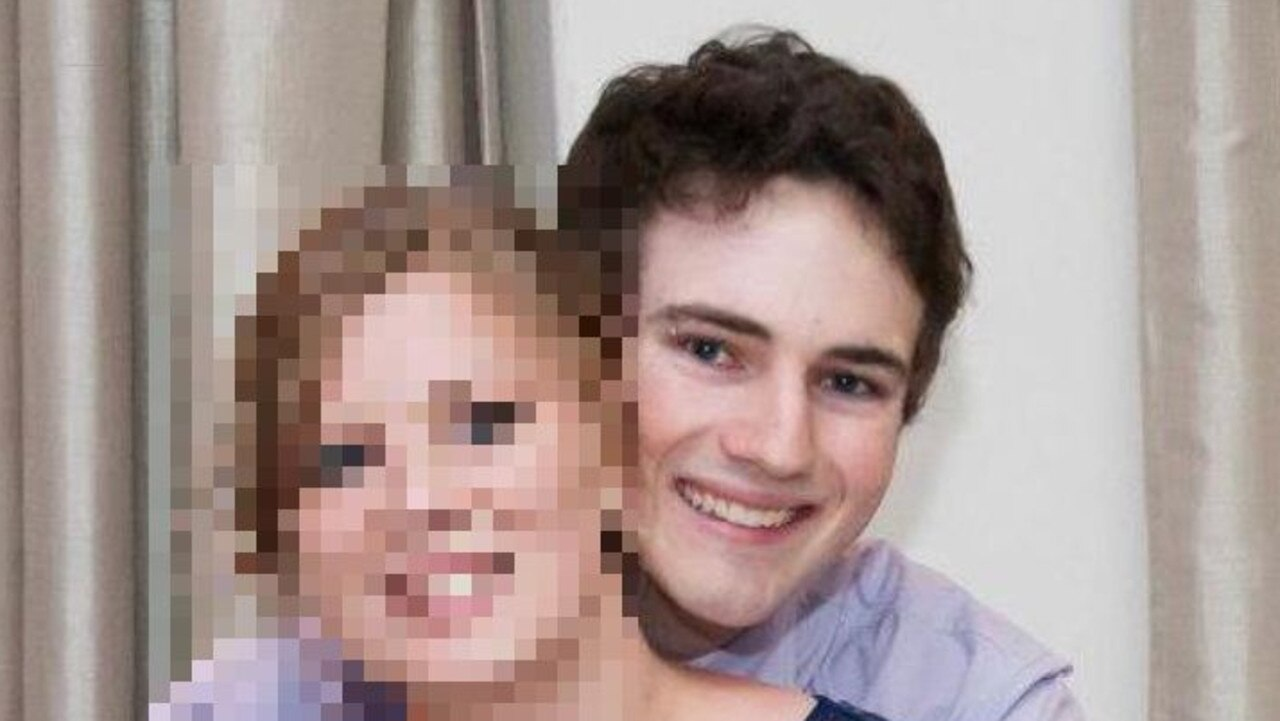 Ward had been filming women with a covert iPhone app. Picture: Facebook