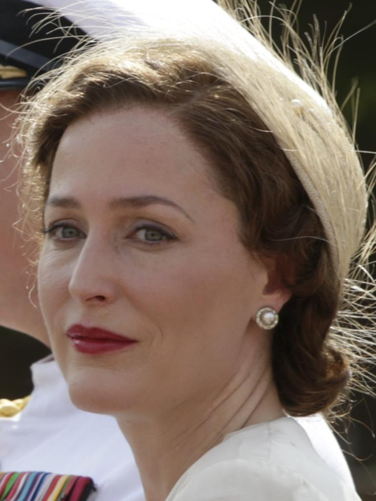 Gillian Anderson will portray Margaret Thatcher in The Crown. Picture: Supplied