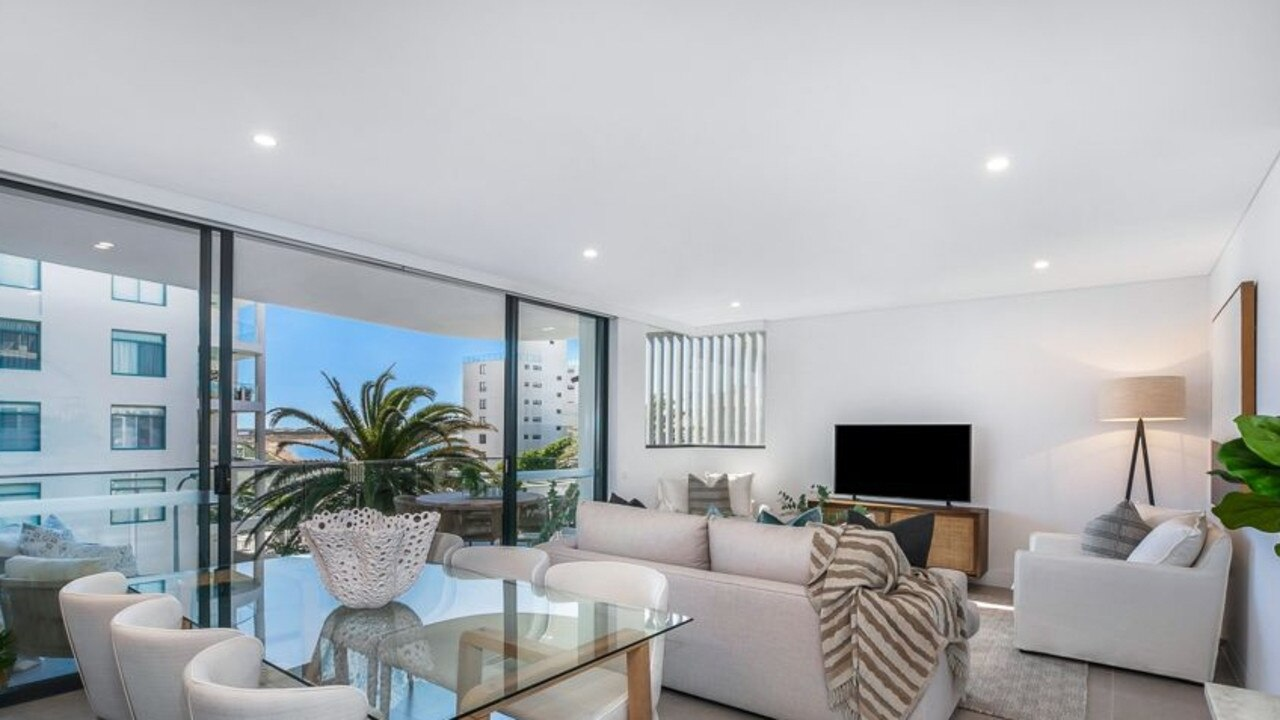 The luxury Cronulla apartment.