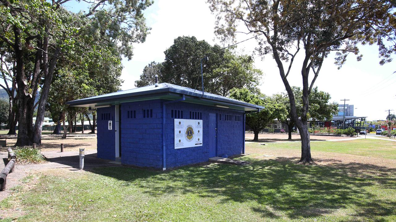 The Lions Club of Cairns park next to the Barr St Markets where the groups congregate. PICTURE: STEWART MCLEAN.