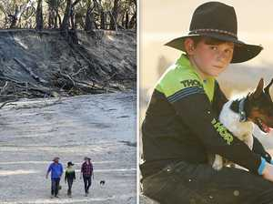 Stunning reason the Darling River is drying up