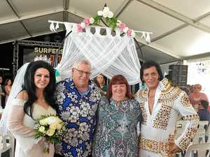 Elvis in the house for 40th anniversary celebration