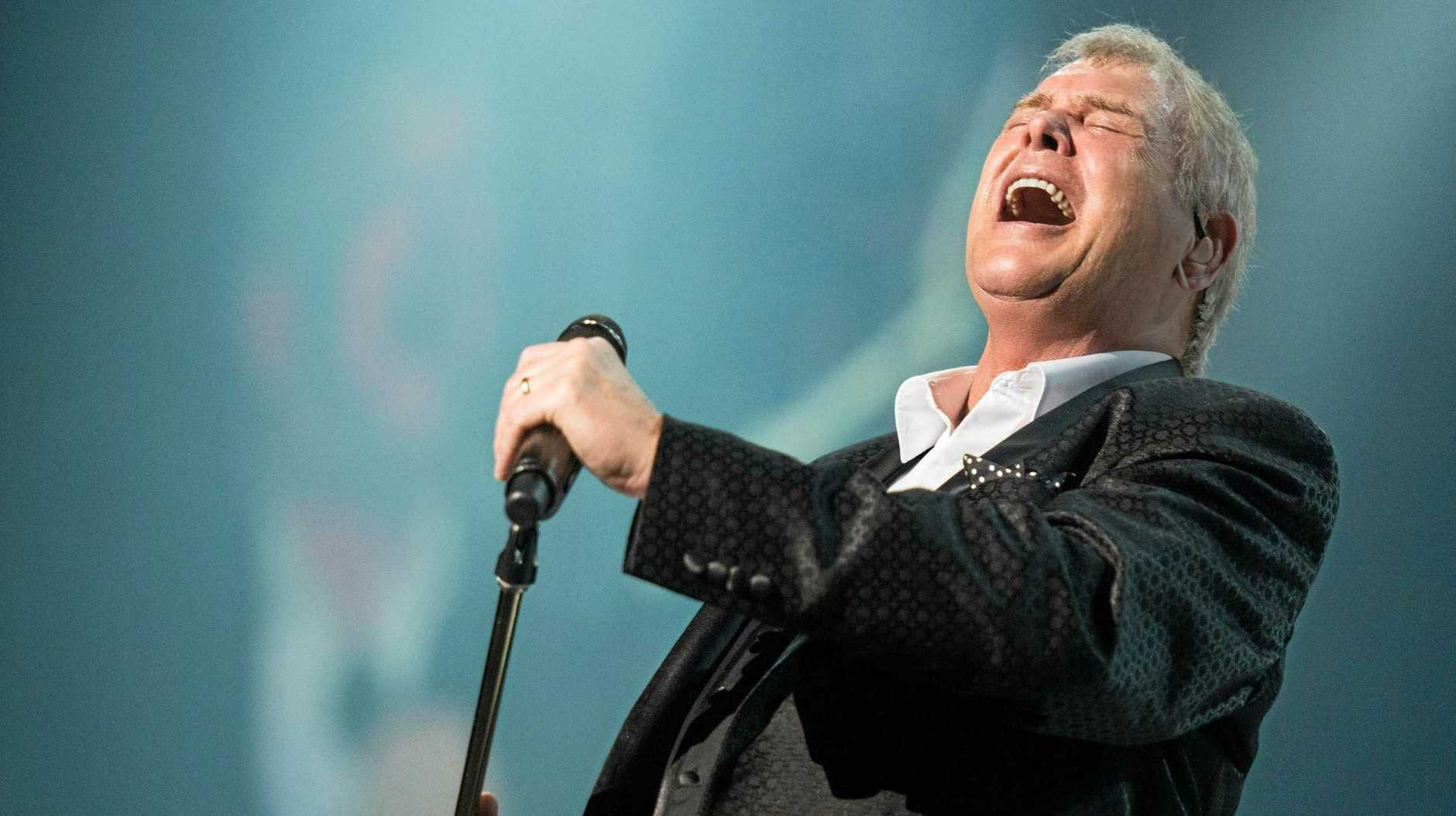 HE'S THE VOICE: John Farnham will appear as headliner at this year's Carnival of Flowers Heritage Bank Festival of Food and Wine Festival.