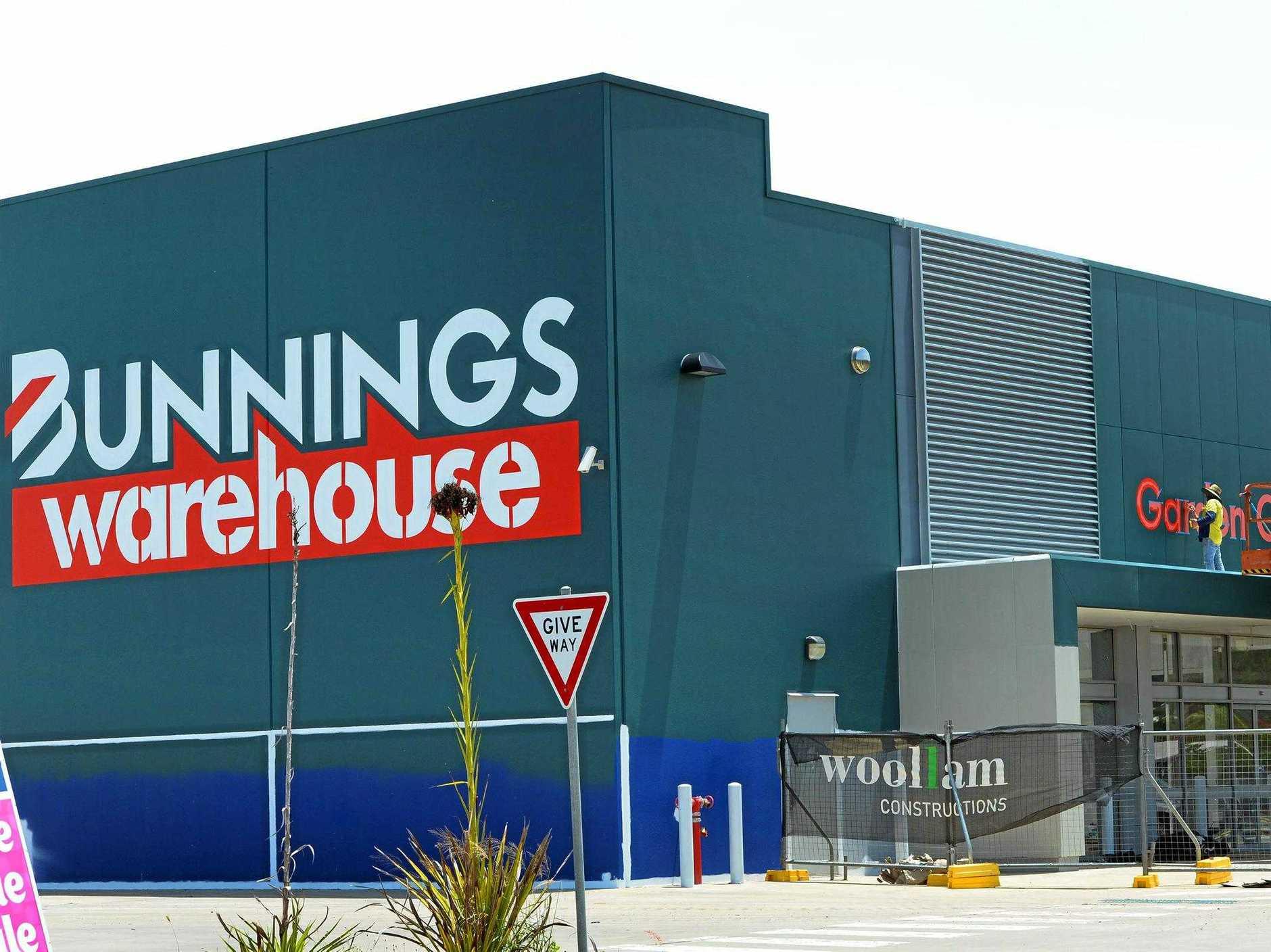 CASH REFUND: The Rockhampton Bunnings store.