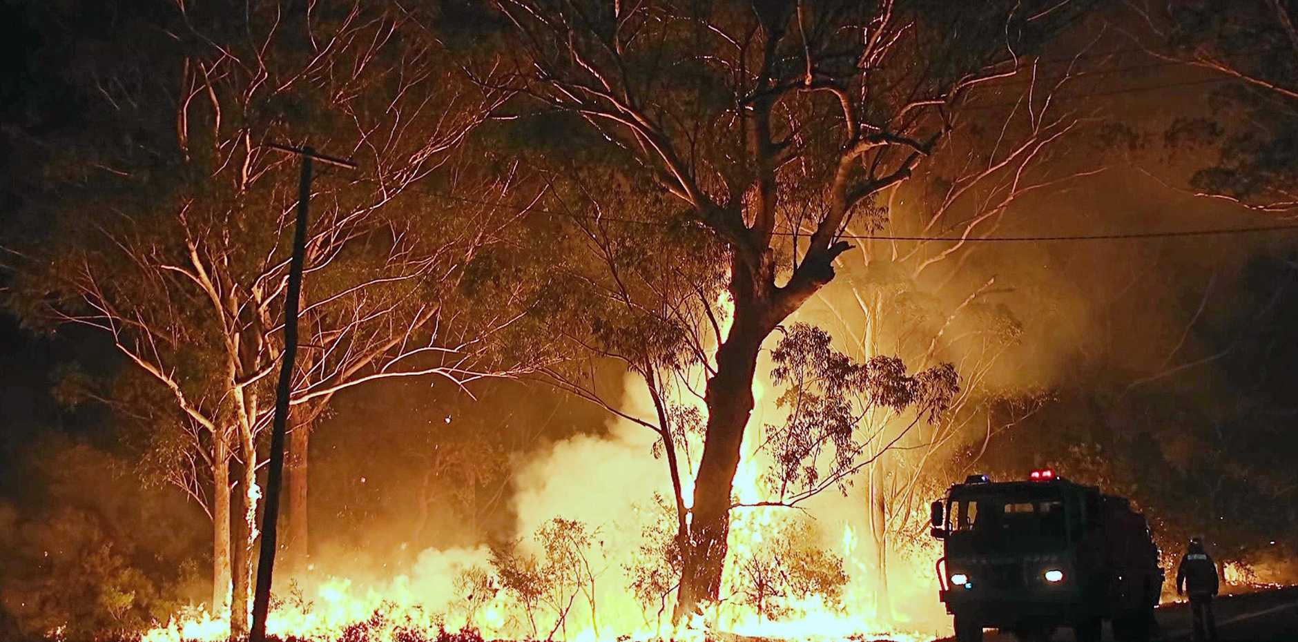 Experts believe the fires that have broken out over the last few days are only just a glimpse of what's to come.