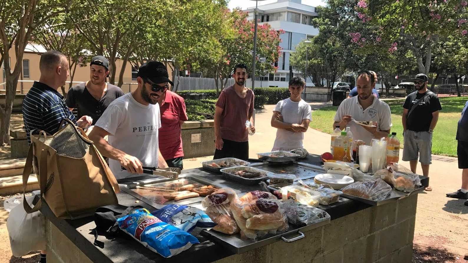 Grassroots charity Mr Perfect is looking to create a regular barbecue get-together in Lismore to help promote good mental health for men.