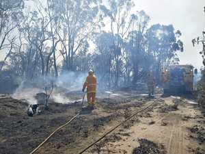 Ferocious blaze just start: Severe fires expected till rain