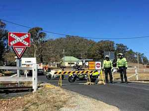 Caution advised: Speed limit reduced, Girraween closed
