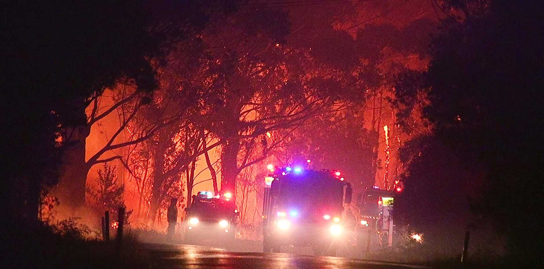 DANGEROUS CONDITIONS: RFS warn fire could threaten Yamba