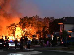 "Peregian fire: ""One street... five or six houses went up."""
