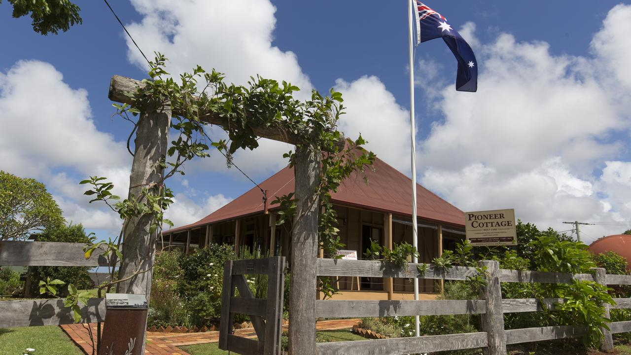 Pioneer Cottage, Buderim is featured in this year's Sunshine Coast Open House. Photo: Barry ALSOP