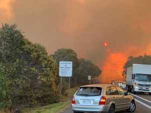 Inside the Peregian firestorm
