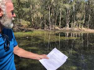 Council poisons pond, charges nearby family for the work