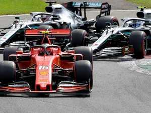 Vettel's 'nightmare' sparks Italian chaos