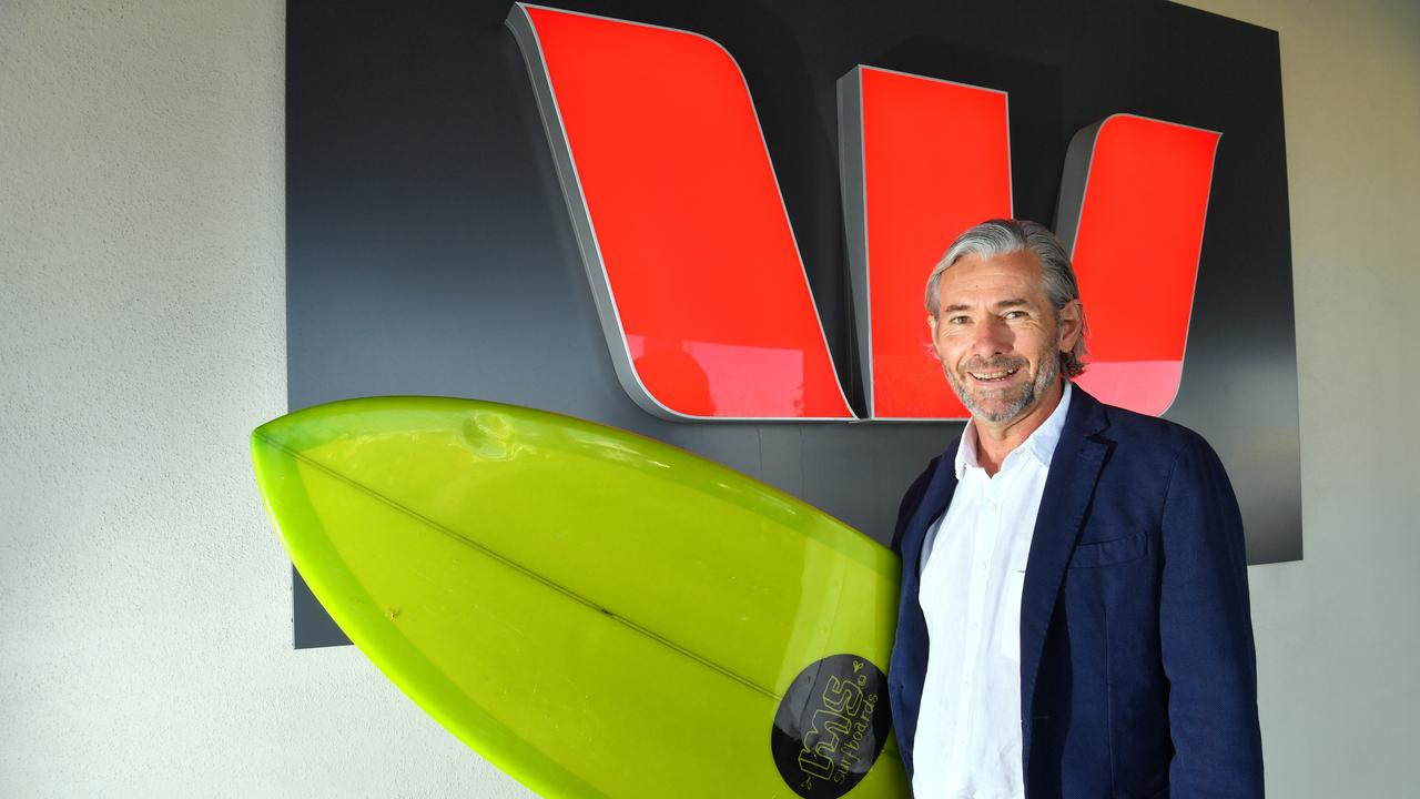 Geoff Dick, regional general manager Sunshine Coast and Wide Bay for Westpac Commercial Banking. Picture: John McCutcheon