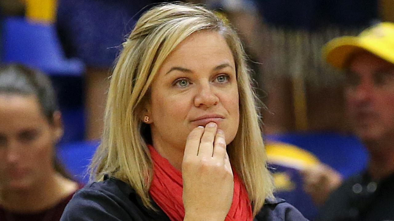 Swifts coach Briony Akle after her sides loss to Lightning in the major semi-final.