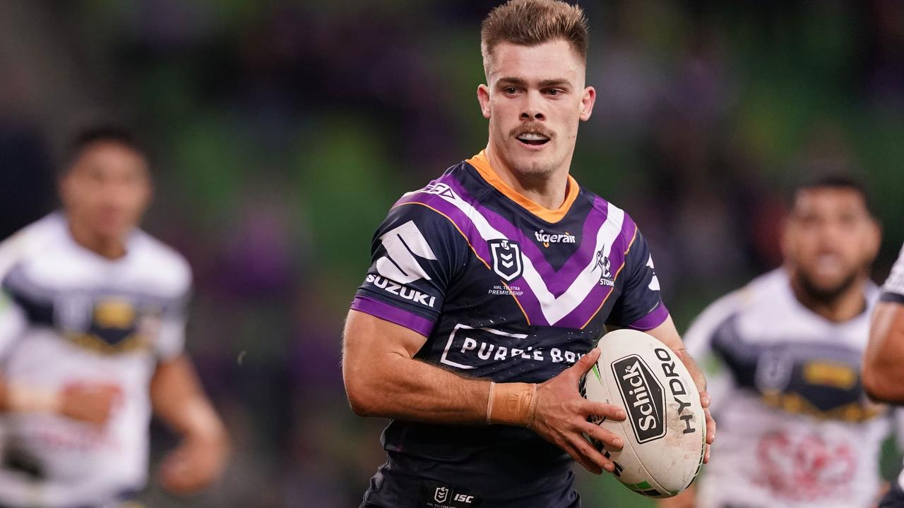 Ryan Papenhuyzen has been one of Storm's standouts this season. Photo: AAP Image/Scott Barbour
