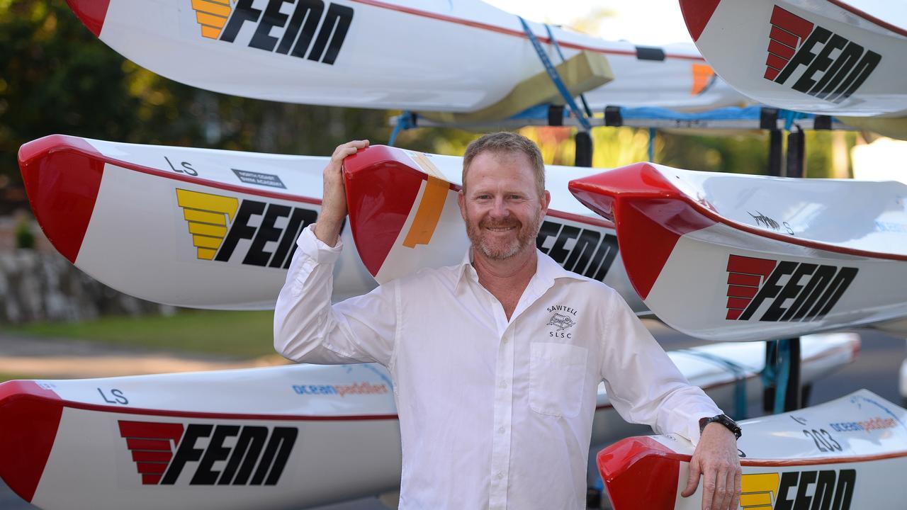 MASTERCOACH: Sean Golding has found his niche as a surf life saving coach.