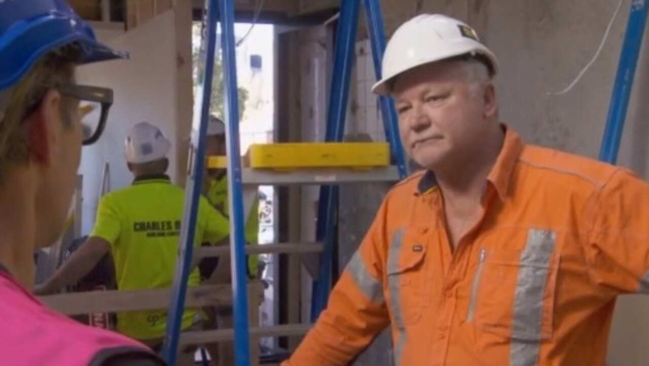 "The Block's Scott Cam was ""concerned"" by what Mitch and Mark had implied in Sunday's episode. Picture: Channel 9."