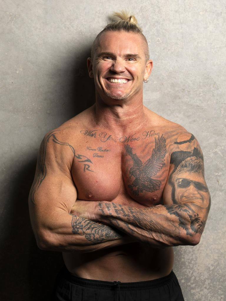 Thompson Institute advocate, counsellor, author and bodybuilder Leon Stensholm will speak at the In Conversation lunch, held at Venue114, Kawana on Thursday.