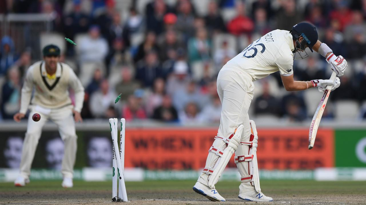 Joe Root has lost his wicket for no run on three occasions this Ashes series, no captain has done so before.