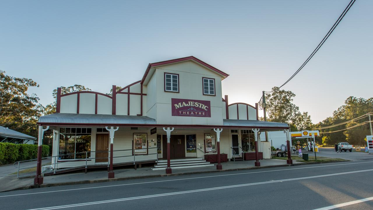 The Majestic Theatre, Pomona is featured in this year's Sunshine Coast Open House. Photo: Cape Tiene Photography