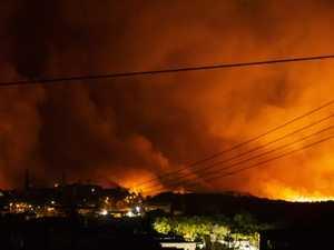 Peregian fire