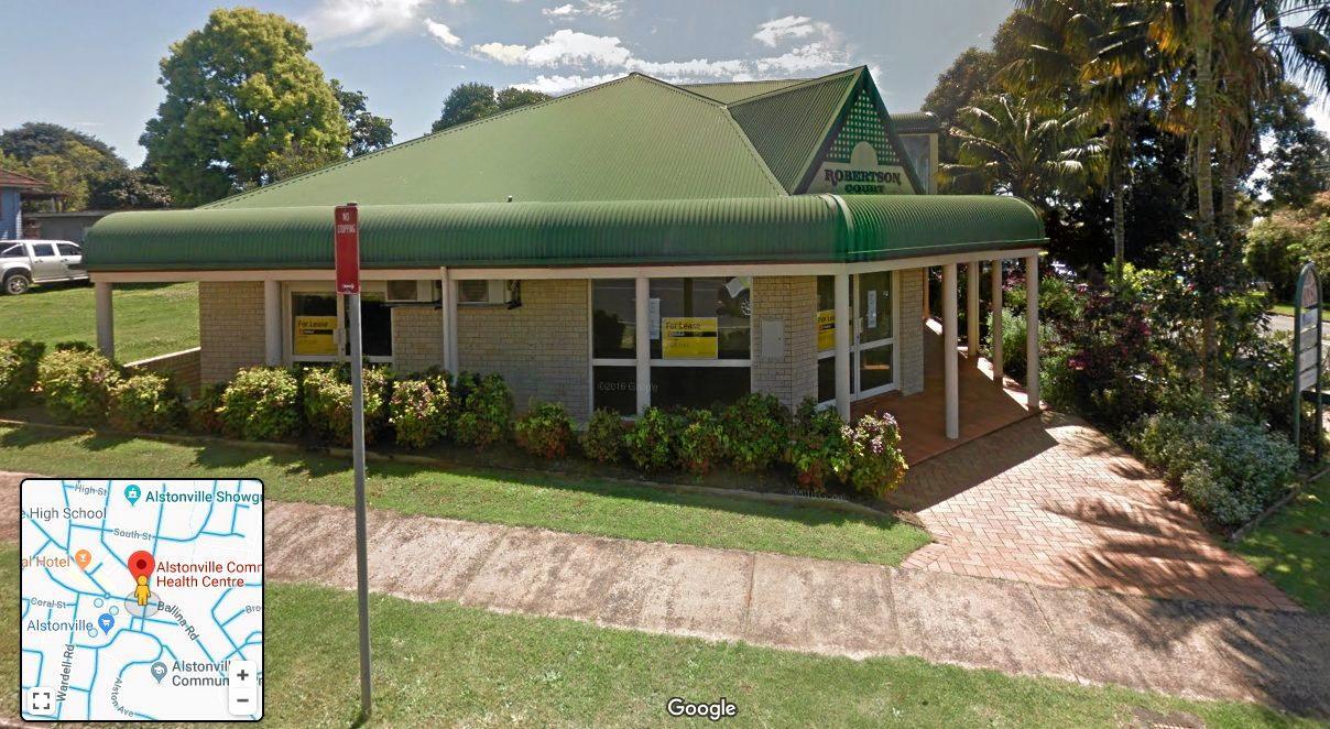 ANNOUNCEMENT: The Alstonville Community Health centre in Main St.