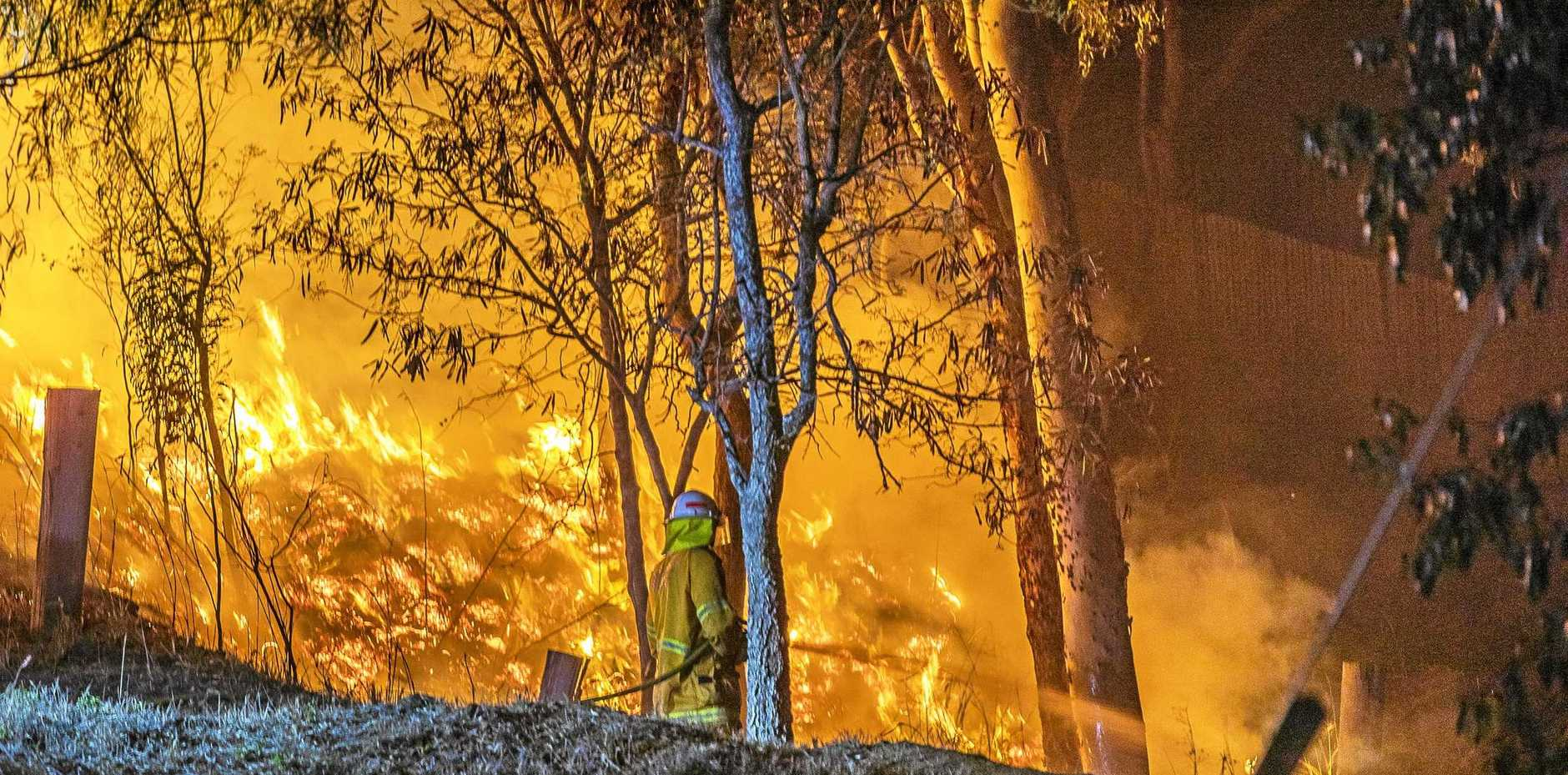 More than 70 fires are raging across Queensland.