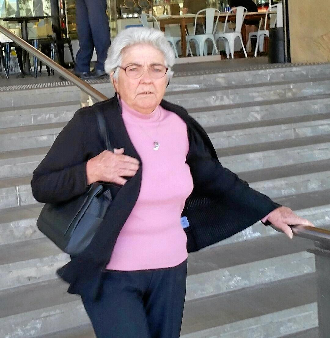 Retiree Barbara Eaton, 74, received a jail term for her attack with a timber paling.