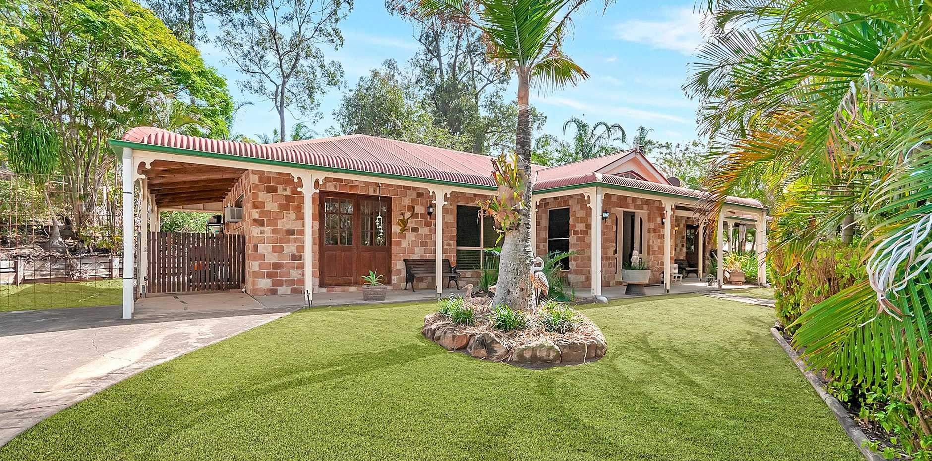 Many Ipswich suburbs offer great properties for people looking to break in to the market. Don't miss Saturday's edition of the  QT  for your free  Property Guide  magazine to find out more about this stunning home.