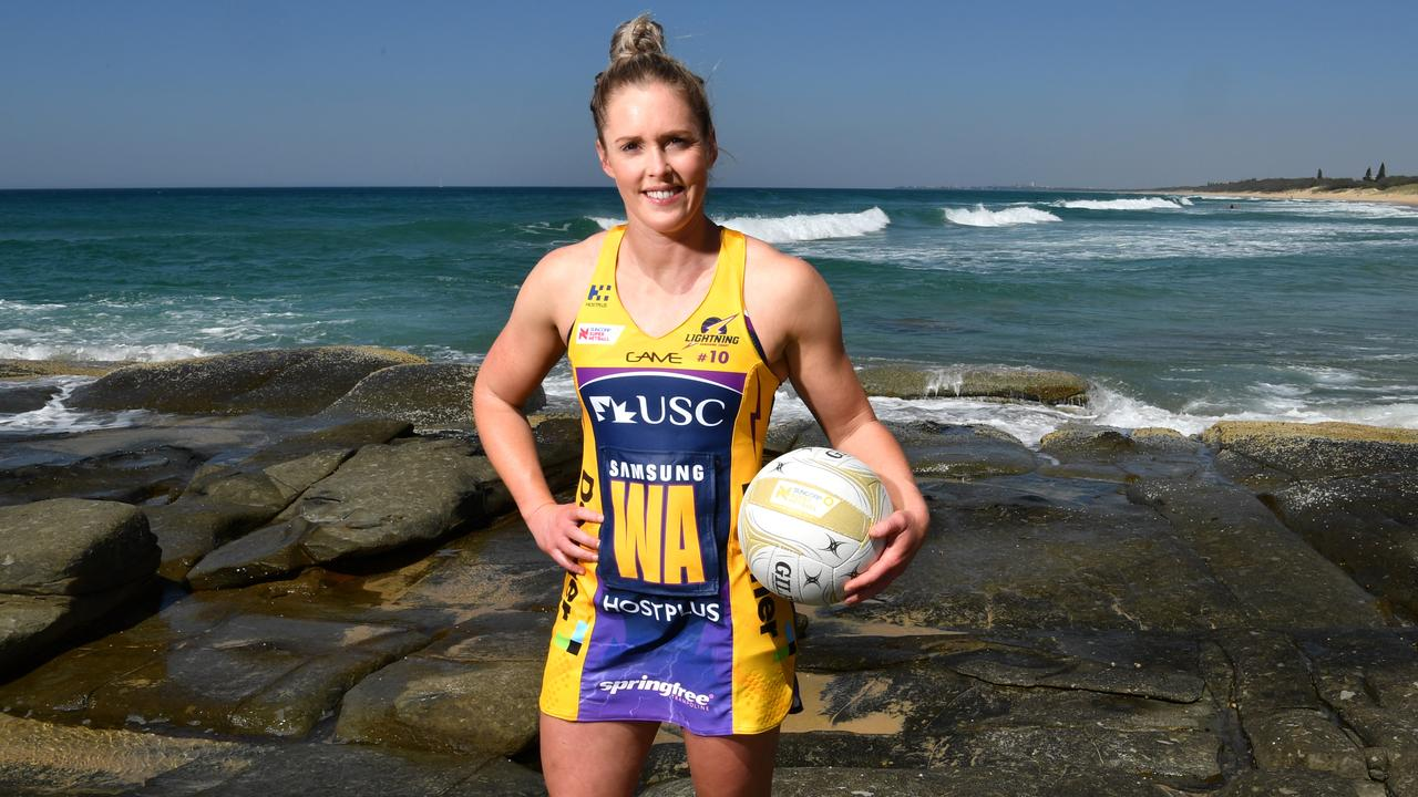 Laura Scherian of the Sunshine Coast Lightning (AAP Image/Darren England)