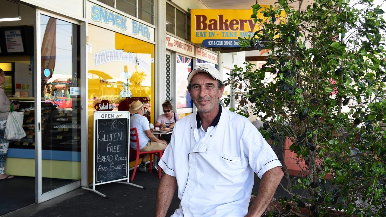 Baker Mark Haafkens is the new owner of Tradewinds Bakery in Woongarra Street.