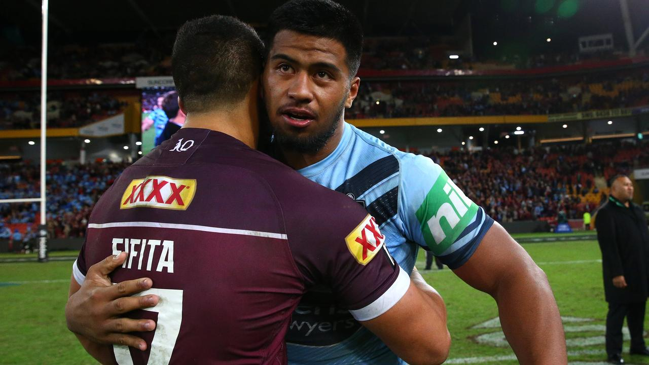 Fifita and Haas have done it in Origin — now for Australia. Photo: Adam Head