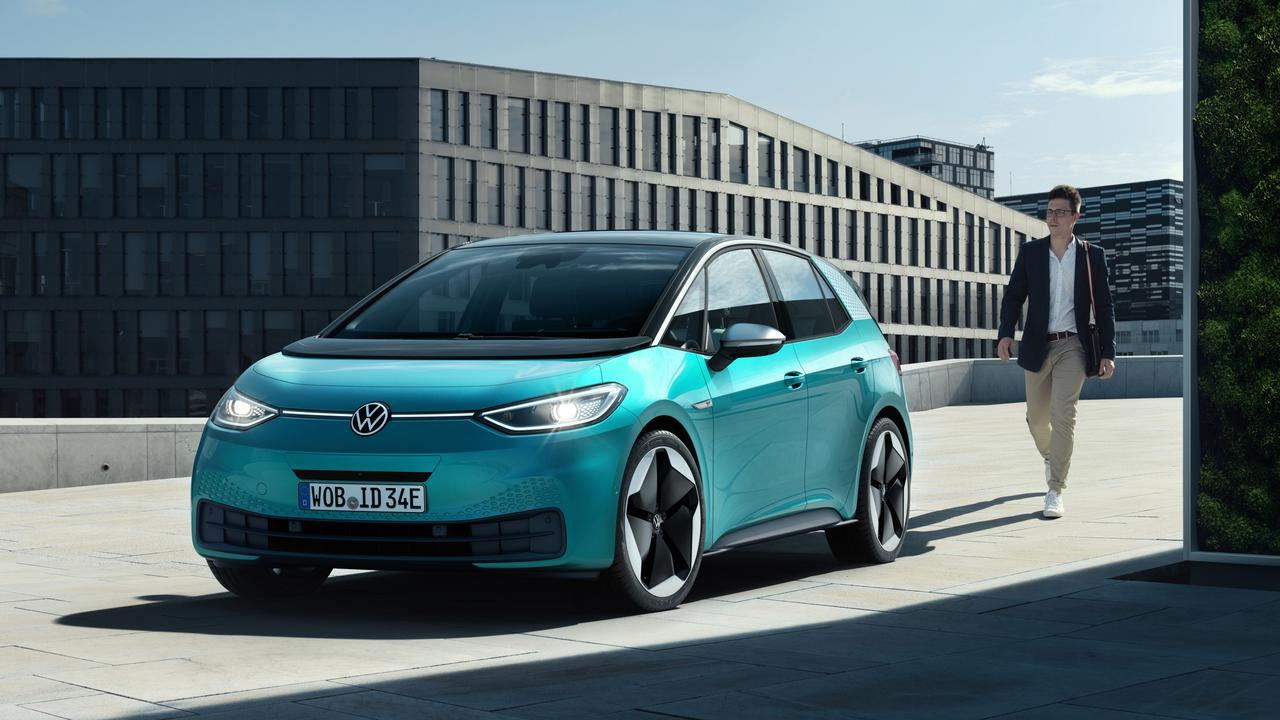 Volkswagen ID.3 electric car.