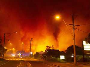 Sunshine Coast blaze still out of control