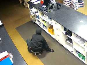 WATCH: Thief caught on camera stealing from Paget store