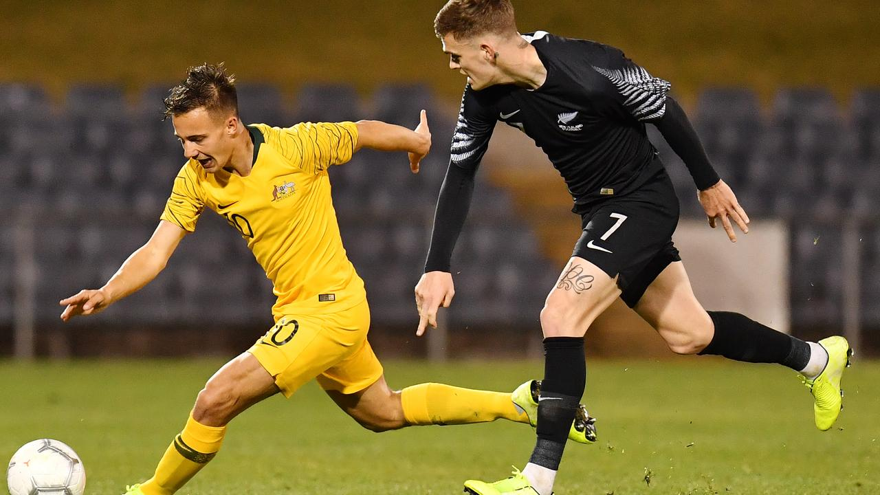 The Olyroos embark on the final stage of Olympic qualifying in January. Picture: AAP