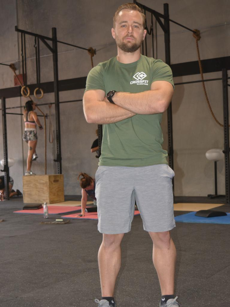 CrossFit Gladstone head coach Damon Bray