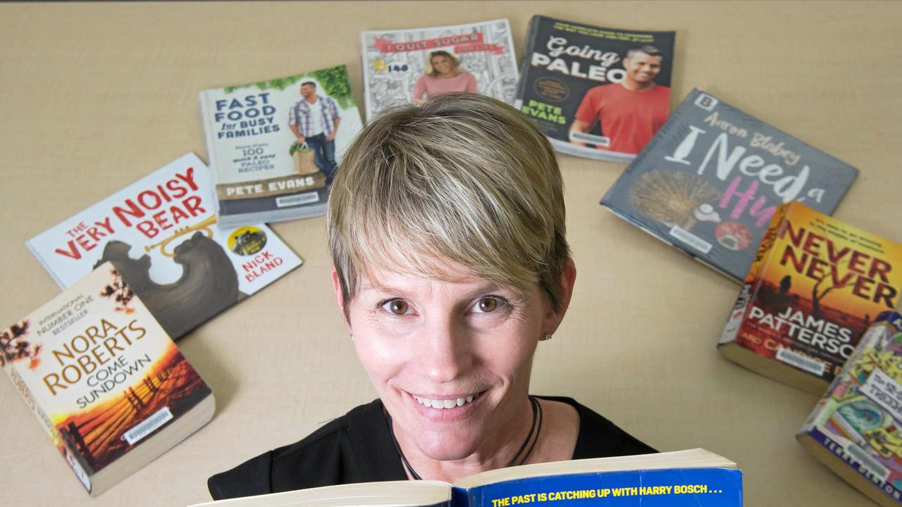 Community outreach team leader for Mackay Regional Council Libraries, Kimberly Lehto-Head. Picture: Emma Murray