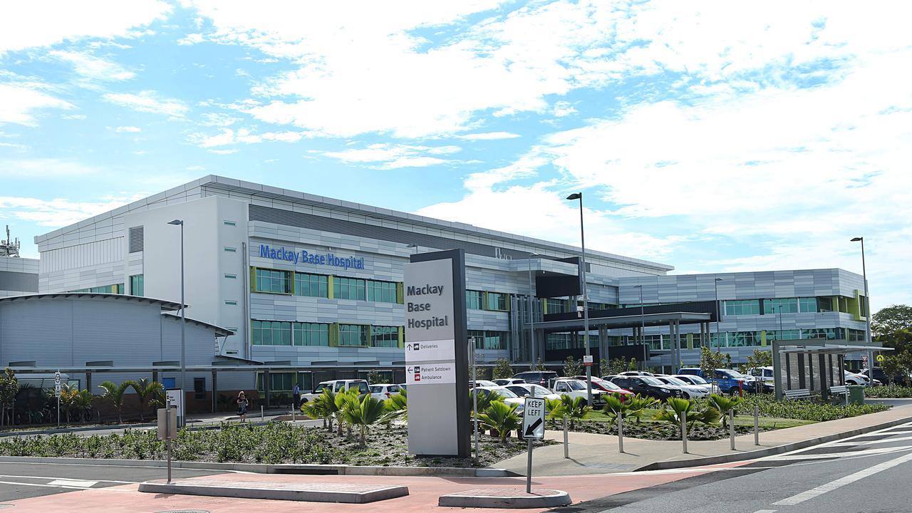 Mackay Base hospital in Mackay. Pic Annette Dew