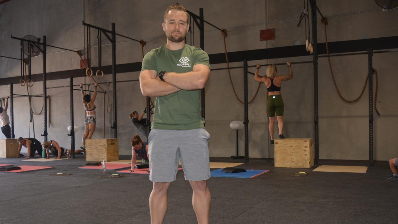 CrossFit Gladstone head coach Damon Bray