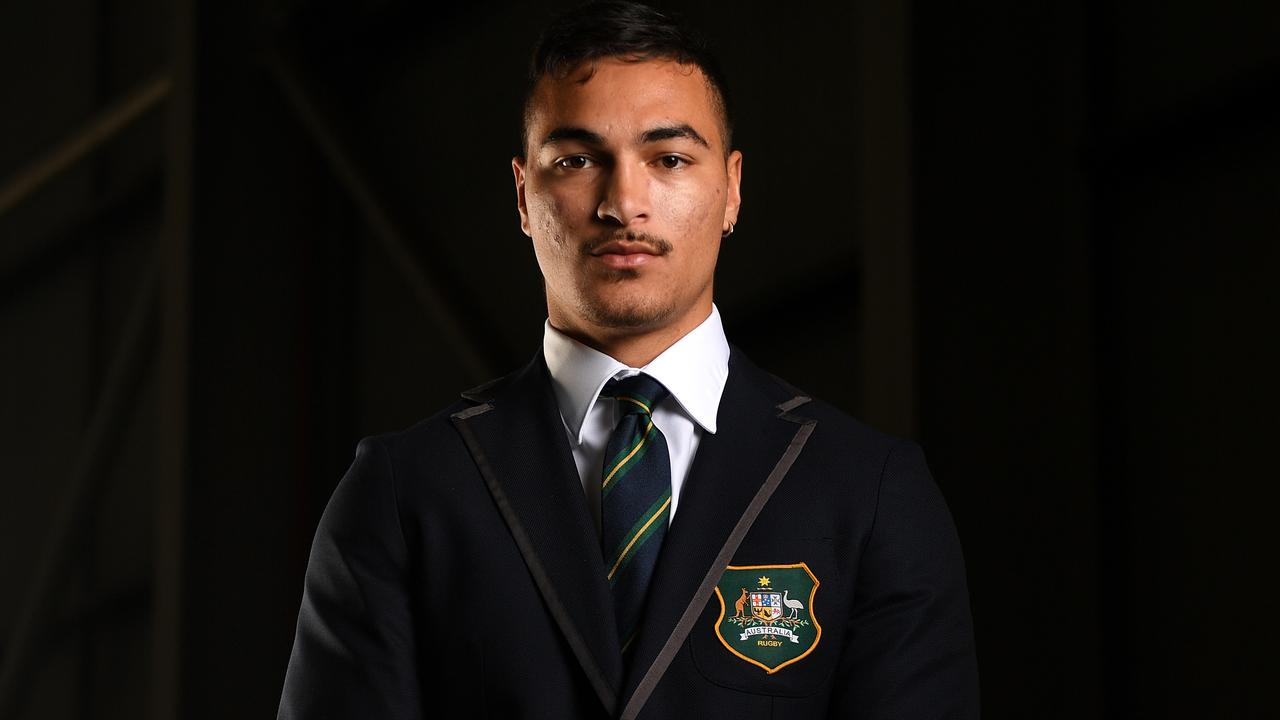Rookie World Cup Wallaby Jordan Petaia...tournament time in Japan plus big 2020 hopes with the Queensland Reds. Photo: Dan Himbrechts, AAP
