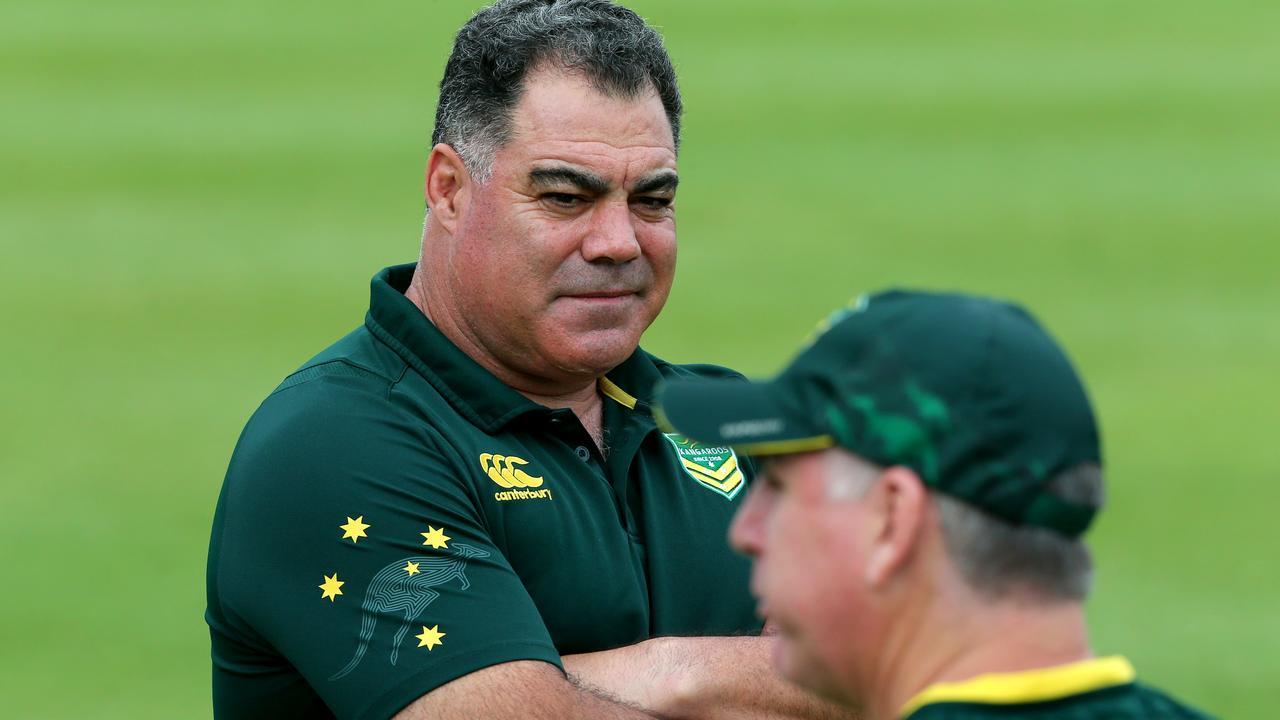 The Kangaroos coach wants to blood the next generation. Photo: AAP Image/David Clark