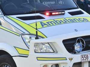 Man seriously injured in truck crash